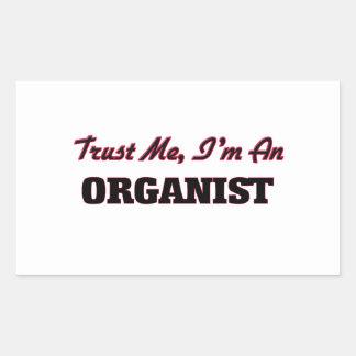 Trust me I'm an Organist Sticker