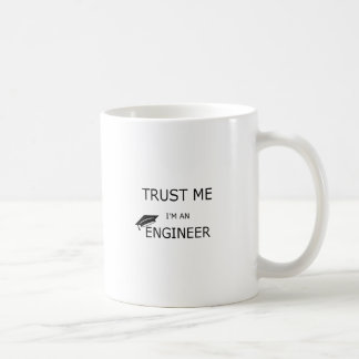 Trust me I'm an to engineer (inclined mortarboard) Coffee Mug