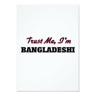 Trust me I'm Bangladeshi Custom Invitation
