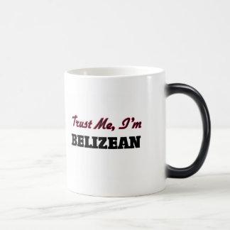 Trust me I'm Belizean 11 Oz Magic Heat Color-Changing Coffee Mug
