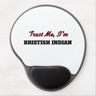 Trust me I'm Bristish Indian Gel Mouse Mats
