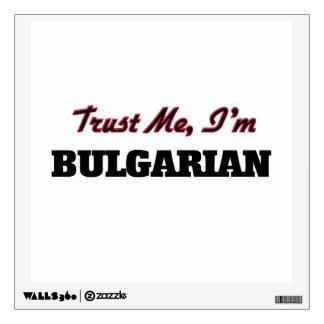 Trust me I'm Bulgarian Room Graphic