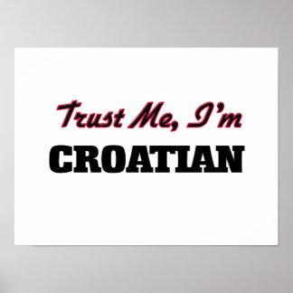 Trust me I'm Croatian Poster