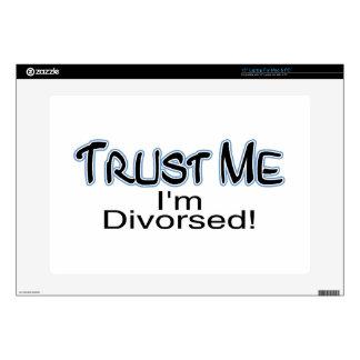 Trust Me I'm Divorced Skins For Laptops