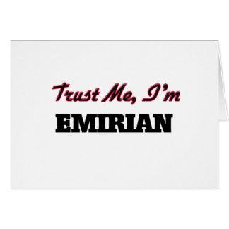 Trust me I'm Emirian Card