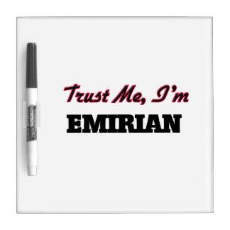 Trust me I'm Emirian Dry Erase Board