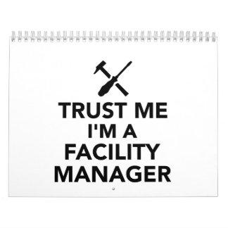 Trust me I'm Facility Manager Calendar
