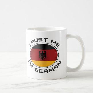 Trust Me I'm German Coffee Mug