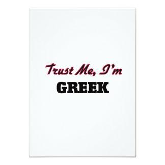 Trust me I'm Greek Invite
