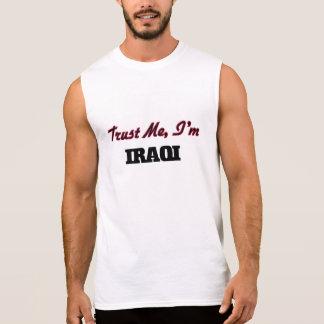 Trust me I'm Iraqi Sleeveless T-shirt