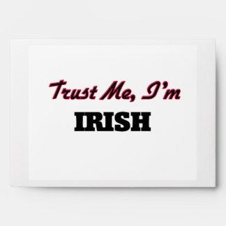Trust me I'm Irish Envelope