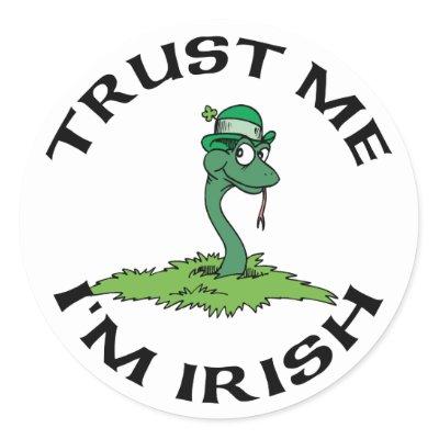 trust me i m irish