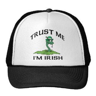 Trust Me I'm Irish Mesh Hat