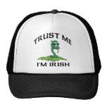 Trust Me I'm Irish Trucker Hat
