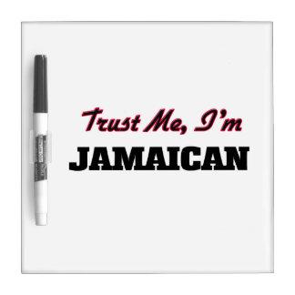 Trust me I'm Jamaican Dry-Erase Whiteboard