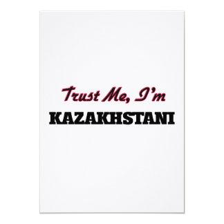 "Trust me I'm Kazakhstani 5"" X 7"" Invitation Card"