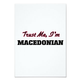 Trust me I'm Macedonian Card