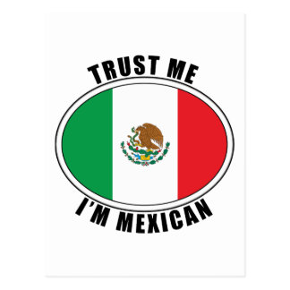 Trust Me I'm Mexican Postcards