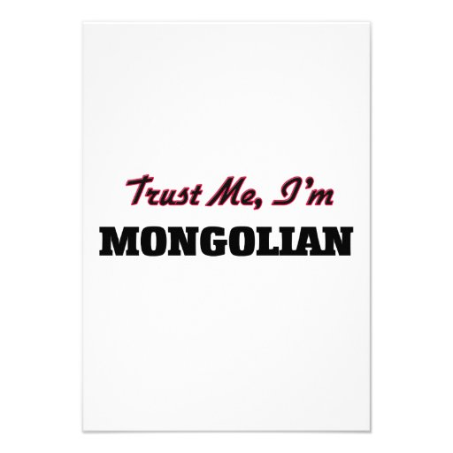 Trust me I'm Mongolian Announcements