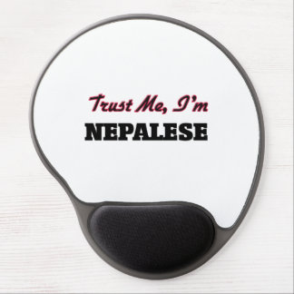 Trust me I'm Nepalese Gel Mouse Pad