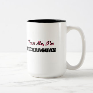 Trust me I'm Nicaraguan Coffee Mugs
