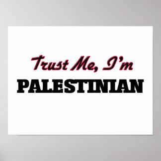 Trust me I'm Palestinian Print
