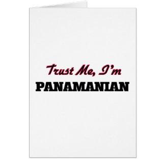 Trust me I'm Panamanian Greeting Cards