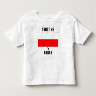 Trust Me I'm Polish T-shirt