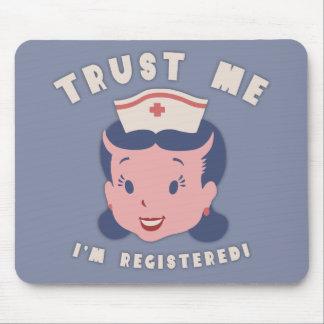 Trust Me - I'm Registered Mousepads
