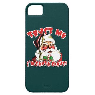 Trust Me I'm Santa Claus Tshirts iPhone 5 Cover