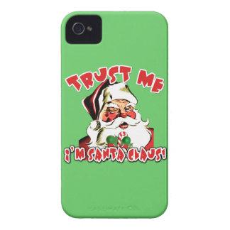Trust Me I'm Santa Claus Tshirts iPhone 4 Cover