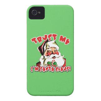 Trust Me I'm Santa Claus Tshirts iPhone 4 Case