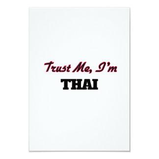 "Trust me I'm Thai 3.5"" X 5"" Invitation Card"