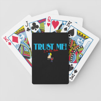 Trust Me I'm The Mom kiss Bicycle Playing Cards