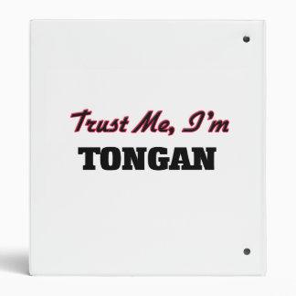 Trust me I'm Tongan Vinyl Binder