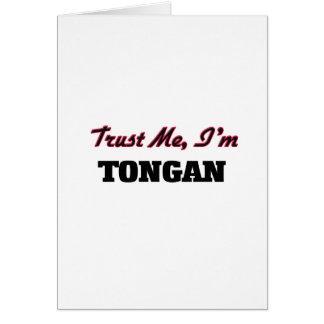Trust me I'm Tongan Greeting Card