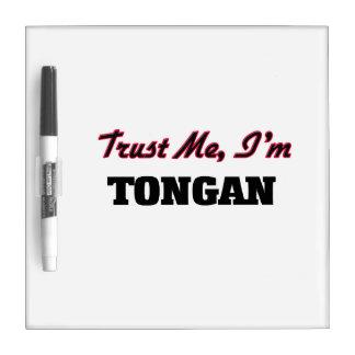 Trust me I'm Tongan Dry-Erase Whiteboard