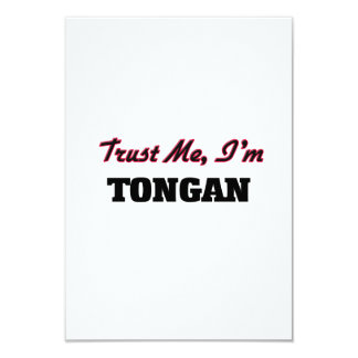 Trust me I'm Tongan Personalized Announcements