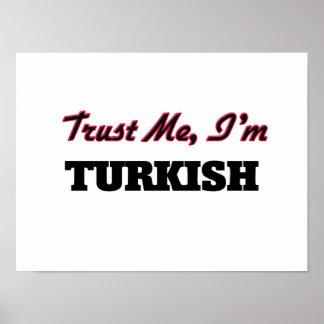 Trust me I'm Turkish Poster