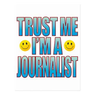Trust Me Journalist Life B Postcard