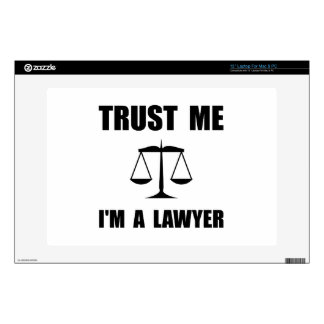 "Trust Me Lawyer Decal For 13"" Laptop"