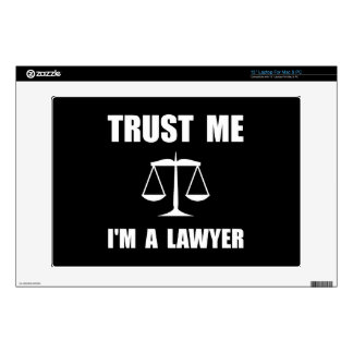 Trust Me Lawyer Laptop Decal