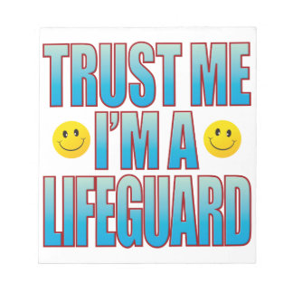 Trust Me Lifeguard Life B Notepad