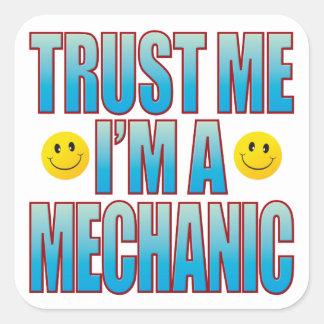 Trust Me Mechanic Life B Square Sticker