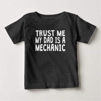 Trust Me My Dad Is A Mechanic Shirt