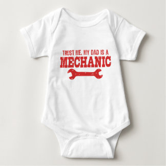 Trust Me My Dad is a Mechanic T-shirt