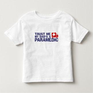Trust Me My Dad's A Paramedic T Shirt