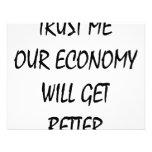 Trust Me Our Economy Will Get Better Custom Invite