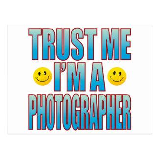 Trust Me Photographer Life B Postcard