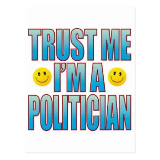 Trust Me Politician Life B Postcard